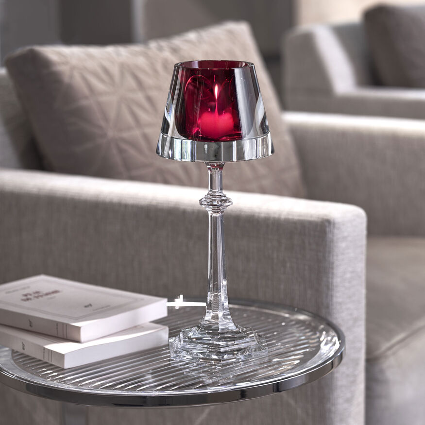 HARCOURT MY FIRE CANDLESTICK RED,  - 3