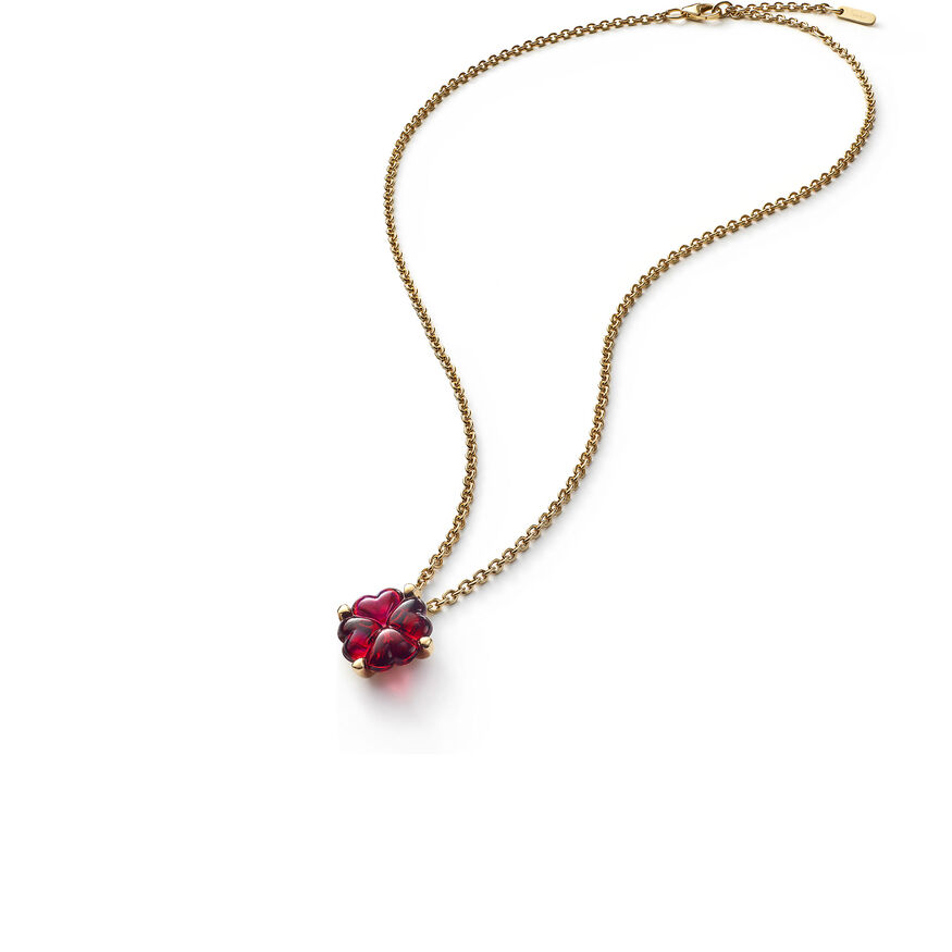 TRÈFLE NECKLACE, Red